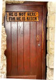 door of tomb