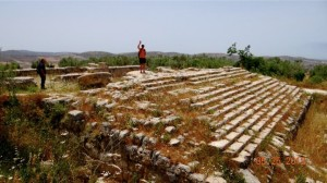 Ruins of temple for Herod