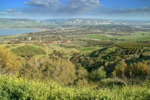 galilee fromt the south