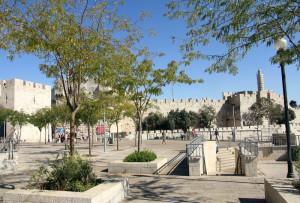 23 Jaffa Gate plaza