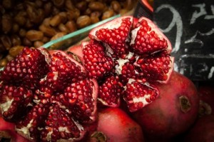 pomogranate seeds
