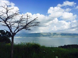 Clouds over the Kinneret