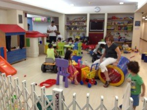 Children play area - Jerusalem