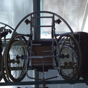 Custom wheel chair