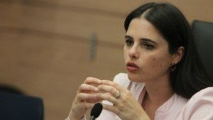 ustice Minister Ayelet Shaked (Jewish Home) is a first-time minister who has been a member of Knesset since 2013. A secular woman from Tel Aviv, she stands out from the party's largely religious base.