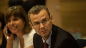 Tourism Minister Yariv Levin (Likud) has been in the Knesset since 2009. He has served as coalition chairman and as head of the Foreign Affairs and Defense Committee.
