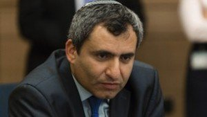 Absorption Minister and Jerusalem Affairs Minister Ze'ev Elkin (Likud) immigrated from Ukraine in 1990 and was first elected to the Knesset in 2006. He has served as deputy foreign minister and coalition chairman, as well as chairman of the powerful Foreign Affairs and Defense Committee.