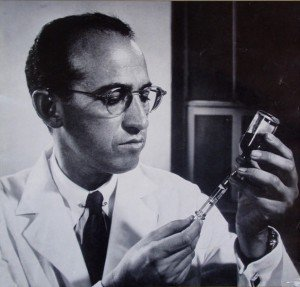 Jonas Edward Salk developed the first successful inactivated polio vaccine. Until 1957, when the Salk vaccine was introduced, polio was considered one of the most frightening public health problems in the world.