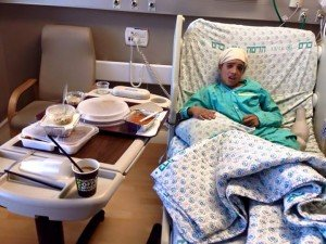 "Palestinian press claims this 13 year old was ""executed"" by Israel. In fact, he stabbed a young Israeli bike rider...and was hurt when police stopped (but not shot) him. The young terrorist is very much alive and is being treated at Israeli hospital."