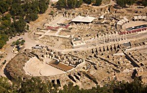 Beit She'an from Yizreel