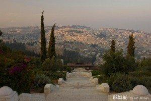 Overlooking Jerusalem by Yehoshua Halevi.