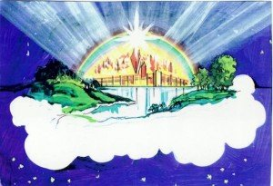 The New Jerusalem! Art by Betty Heinson