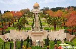 Baha'i Gardens, Haifa. Photo: Noam Chen