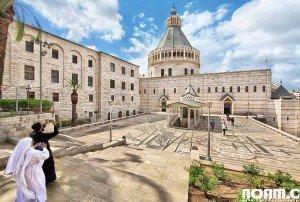 Church of the Annunciation, Nazareth. Photo: Noam Chen