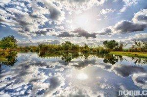 Hula Lake Park, by Noam Chen