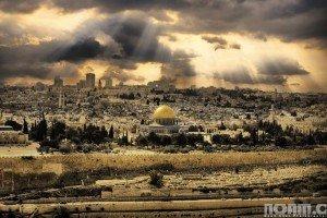 Sun over Jerusalem. Photo by Noam Chen.