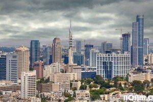 Tel Aviv skyline by Noam Chen