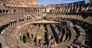 Gladiators, animals and soldiers engaged in all types of combat within the Colosseum. The Colosseum could even be flooded to allow naval reenactments to take place.