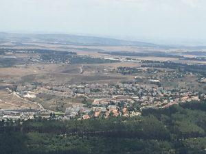 Wheat Fields viewed from Mt Carmel