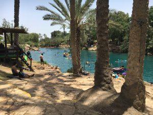 Spring fed pools at Gan ha-Shlosha