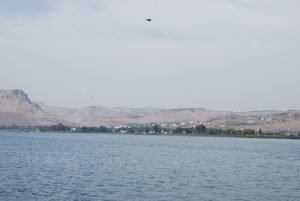 View of Migdal from on the lake