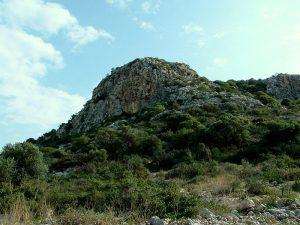 Megadim Cliff, Mt armel