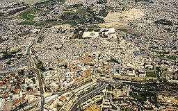 Jerusalem-Old City Aerial View
