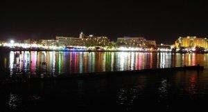 Eilat at night